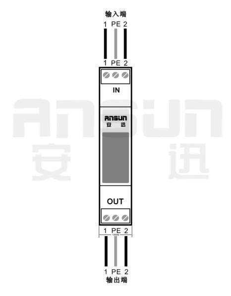 4-20ma模拟量信号防雷器--as05ym